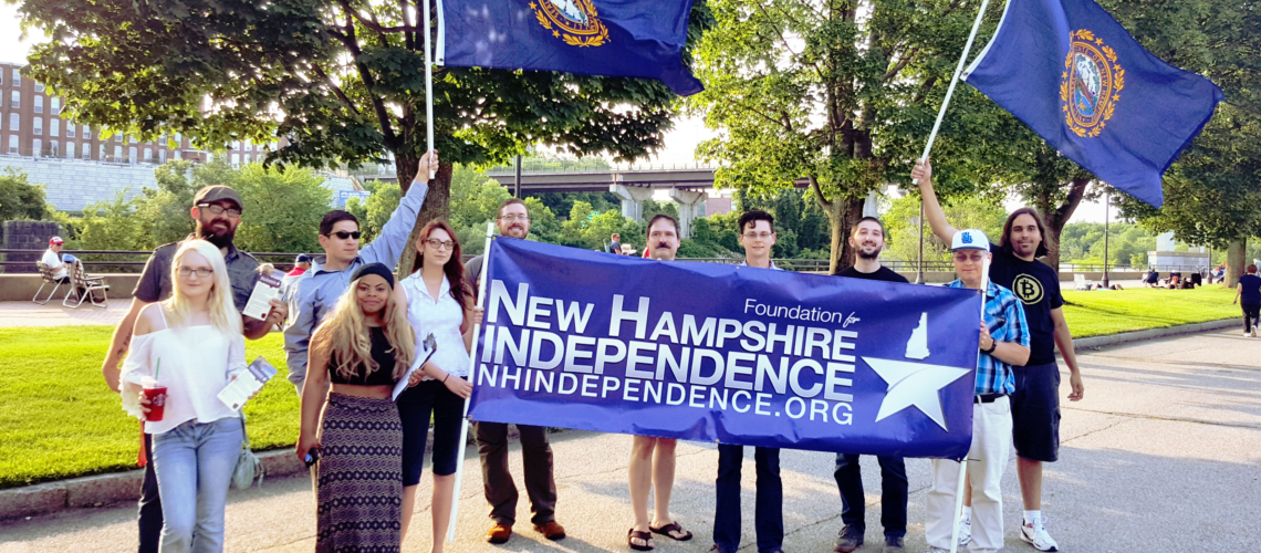 FNHI supporters on Independence Day