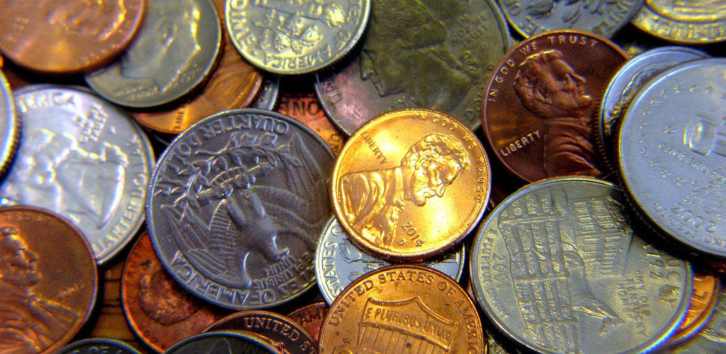 Debasing the currency - penny now costs 1.82 cents to make; nickel 6.6 cents